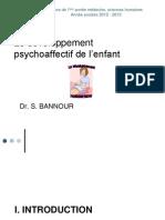 Developpement Psychoaffectif de l'Enfant