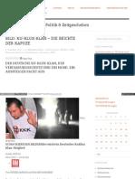 Deutscher Ku-klux-klan, Verfassungsschutz Und Mord - Schlagwort-Archive - Michele Kiesewetter - Hajofunke
