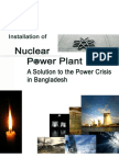 Installation of Nuclear Power Plant