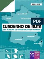 Cuaderno de Ruta del auxiliar de conversación en Francia 2012-2013