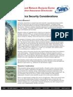 Biomterics Secuirty Consideration