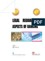 Legal & Regulatory Aspects of Banking