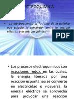 Modulo 6. Electroquimica