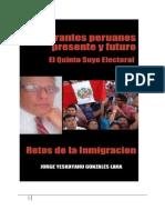 Inmigrantes Peruanos Presente y Futuro Retos de La Inmigracion