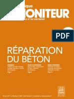 Réparation du béton