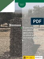 Biomasa - Experiencias con biomasa agrícola y forestal para uso energético