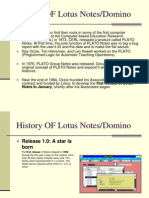 History of Lotus Notes