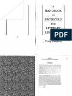 Dworkin, Craig - A Handbook of Protocols for Literary Listening