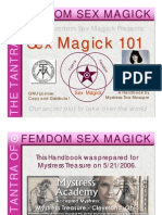 Sex magic 101