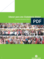 educar ciudadania global