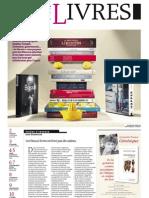 Supplément Le Monde des livres 2012.12.14
