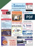 Mensuario LA RESTAURACIÓN N° 79 - Diciembre 2012