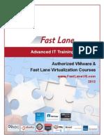 Fast Lane VMware Training 2012