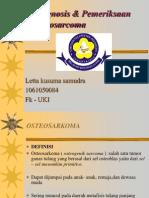 Letta 1061050084-Pemeriksaan Osteosarcoma
