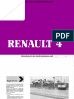 Manual del usuario del Renault 4 de 1985