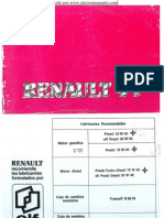 Manual del usuario del Renault 4 Fuego