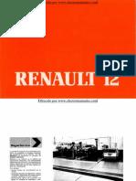 Manual del usuario del Renault 12 de 1984