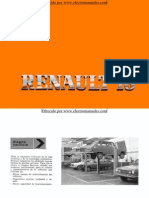 Manual del Renault 18 de 1981