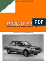 Manual del usuario del Renault 18 de 1985