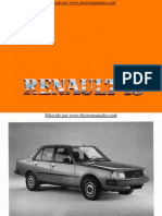 Manual del usuario del Renault 18 de 1985