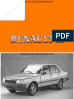 Manual del usuario del Renault 18 de 1988