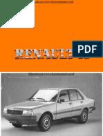 Manual del usuario del Renault 18 de 1988