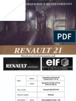 Manual del usuario del Renault 21 de 1994
