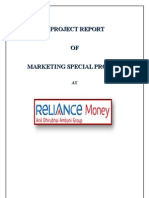 """consumer base monetry insvestment at """"Reliance Money"""" Hyderabad"""