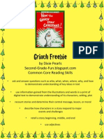 How the Grinch Stole Christmas Freebie