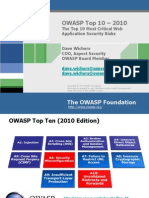 Lect Secure Coding OWASP Top 10 2010