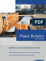 15 Plaxis Bulletin (s)