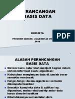 Perancdtbs Basis Data