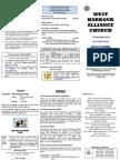 Church Newsletter - 16 December 2012