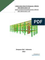 Approx Fundamental Building Period RSNI 03 2847 201X & ASCE 7-10