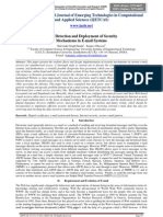 Fault Detection and Deployment of Security