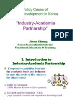 Jisun Chung - Industry-Academia Partnerships