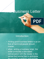 business letter By, sona padman