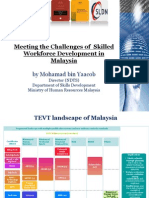Mohamad Bin Yaacob - Challenges of Skilled Workforce Development in Malaysia