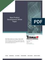 2012 New Product Development Whitepaper