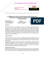 An Empirical Study on Retention of Employees in It Industries With Special Reference to Wipro Technologies