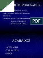 ACABADOS DIAPOSITIVAS
