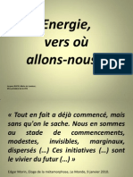 Montpellier Energaia Energie vers où allons nous et schémas COURT