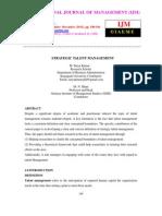 Strategic Talent Management-ijm