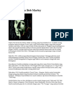 Reggae-Sang Legenda Bob Marley