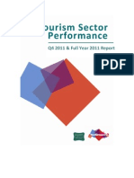 Tourism Performance Report - Quarter Four and Full Year 2011