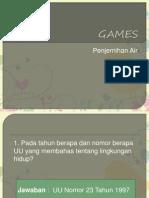 PPT Games Penjernihan Air