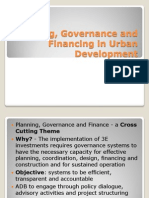 4 - URBAN DAY 2012 - Governance, Planning and Finance TGL