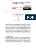 Abrasive Wear Behavior of 2014al-Tic in Situ Composite