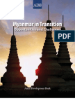 Myanmar in Transition ADB