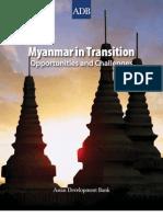 Myanmar in Transition ADB